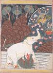 Vishnu and Garuda Save the King of the Elephants (Gajendra Maksha)