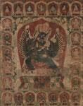 Vajrabhairava (Lamaist painting) 1512