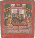 Raja Ratan Sen, Padmavati, and the parrot Hiraman