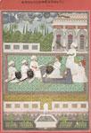 Maharaja Raja [Gaja] Singh and courtiers