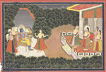 untitled, Krishna with gopis.