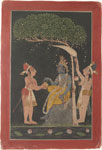 Untitled, Krishna with attendants