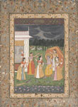 untitled, Krishna with Gopis