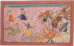 Untitled, Krishna kills an enemy