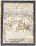 Shah Shuja and his son Sultan Zaynul-Abidin