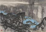 River Landscape with Blue 1982